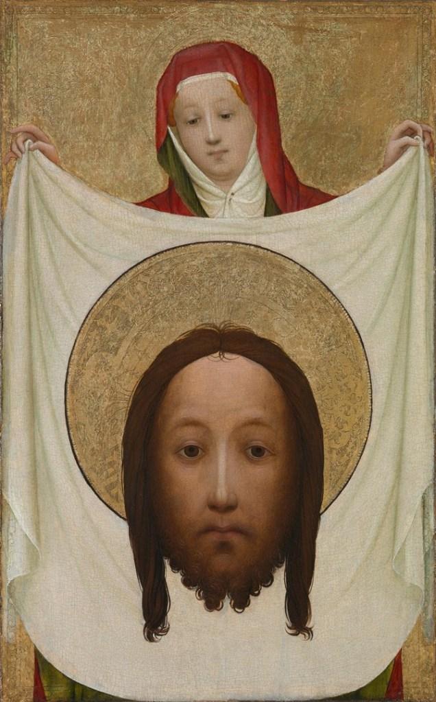The painting, 'Saint Veronica with the Sudarium'